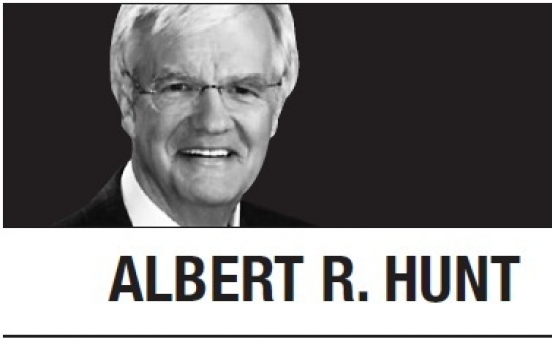 [Albert R. Hunt] China has upper hand, while US hobbled by Trump