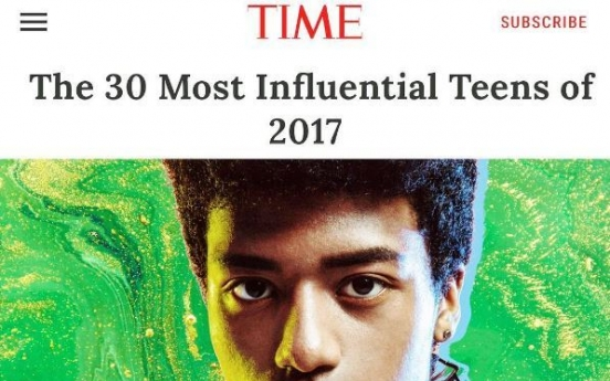 Nigerian-Korean model makes Time's 'Most Influential Teens of 2017'