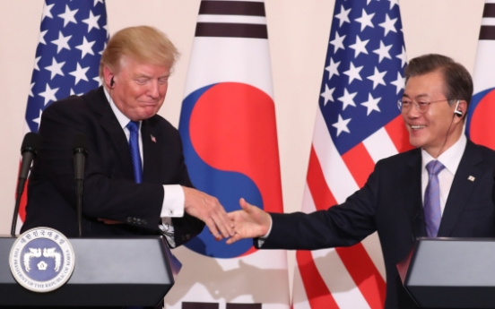 Moon, Trump agree on greater S. Korean missile capabilities