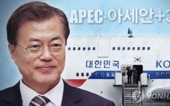 Korean president to embark on three-nation Southeast Asia trip