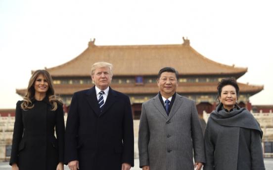 Trump to push China on trade, North Korea during 2-day visit