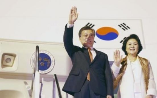 Korean, Indonesian leaders set for bilateral summit