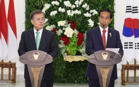 Moon hopes to give shape to Southeast Asian vision on tour of region