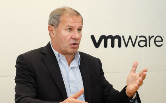 [Herald Interview] VMware aims to lead switch to 'hybrid clouds'