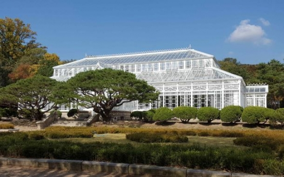 Victorian-style greenhouse in Changgyeonggung reopens