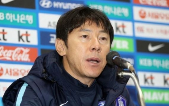 Korea football coach ready to challenge physical Serbians in friendly