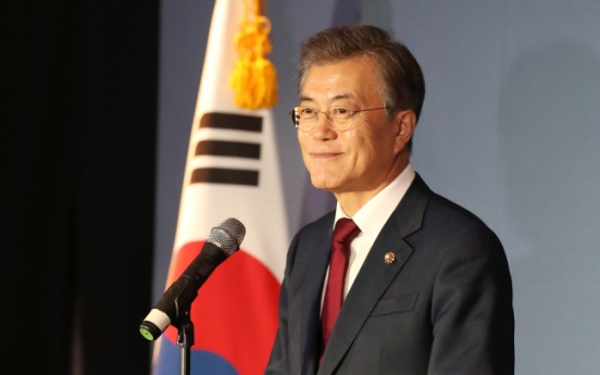 Moon calls for regional community with ASEAN