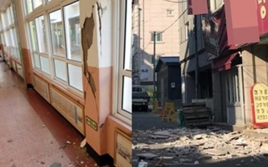 Earthquake strikes southeastern Korea