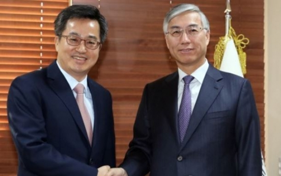 Finance minister, Chinese ambassador hold talks to bolster economic cooperation
