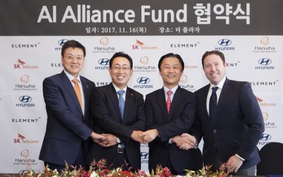 Hyundai forms W50b AI fund with SKT, Hanwha Asset Management