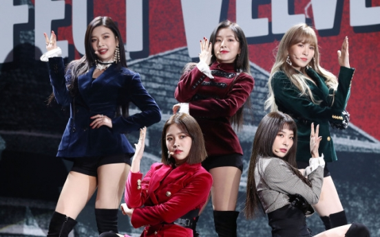 After peppy 'Red,' Red Velvet delves into woozy 'Velvet'