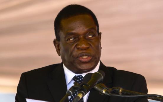 Mnangagwa replaces Mugabe as ZANU-PF party chief: party delegate