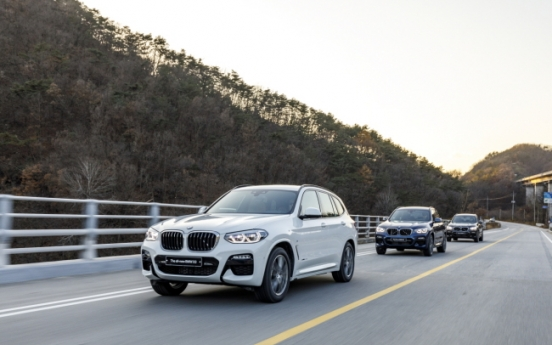 [Behind the Wheel] BMW X3 returns with enhanced stability, speed