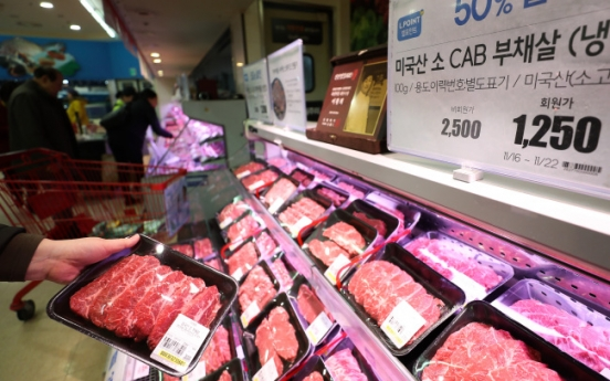 Backed by FTA, US beef claims half of import market