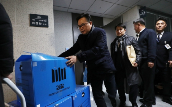 Prosecution close in on pro-Park conservative heavyweight in NIS scandal