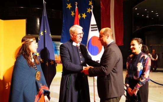 [PyeongChang 2018] Latvia highlights soaring friendship with Korea on 99th anniversary