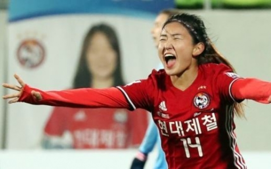 Korea taking mix of veterans, youngsters to women's football tournament
