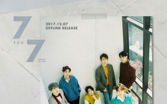 GOT7 to release repackaged version of '7 For 7' on Dec. 7