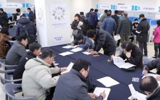 Job offerings in Korea increase in 2016