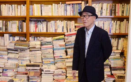 [Photo News] Poet Ko Un's library reproduced, revealed to public