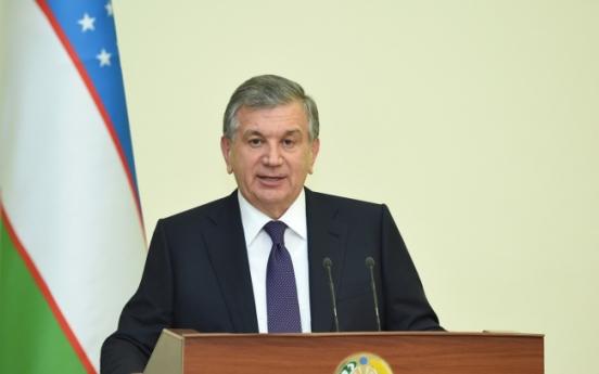Uzbek leader begins 4-day state visit