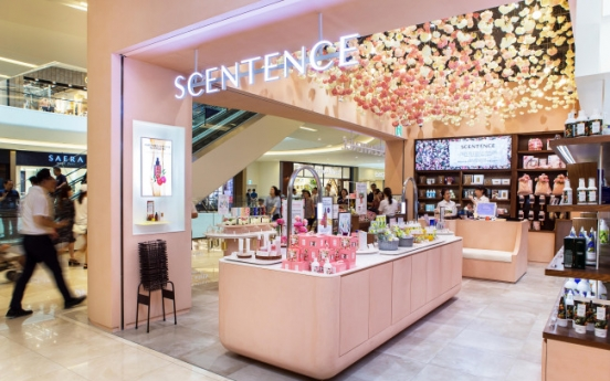 E-mart's cosmetics store Scentence to open in Saudi Arabia