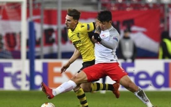 Korean forward scores 8th goal of season in Europa League action