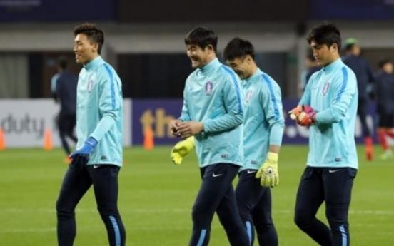 Korea replace injured goalkeeper for regional football tournament