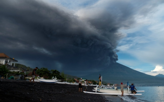 Bali ups volcano alert to highest level