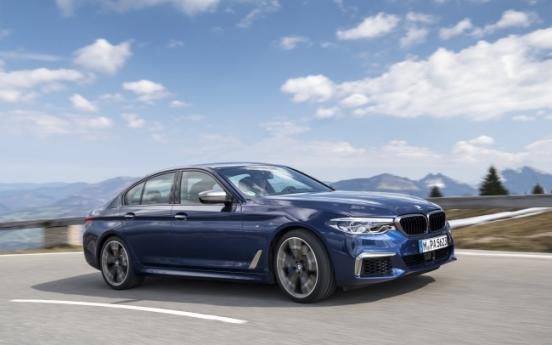 BMW Korea adds diversity to flagship 5-Series