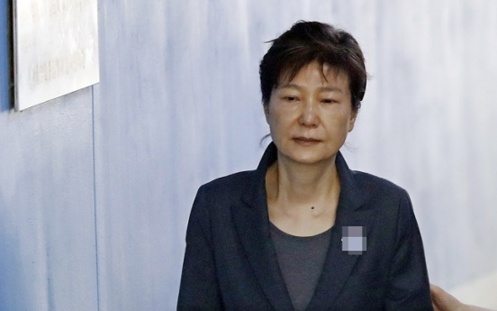 [Exclusive] Ex-President Park 'too unwell' to be tried in detention: MH Group