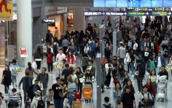 S. Koreans' overseas spending hits record high in Q3