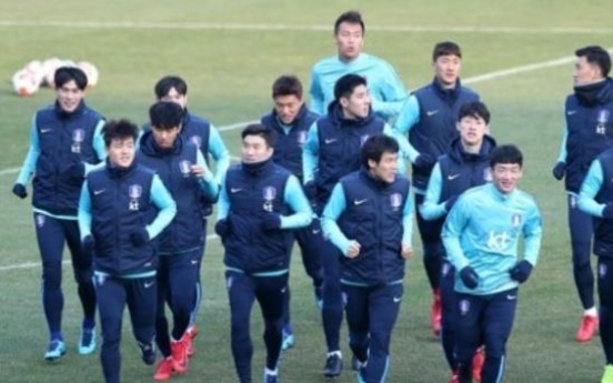 Korea looking to defend regional football title, test players ahead of 2018 World Cup