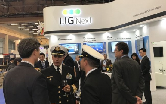 LIG Nex1 showcases defense systems in Colombia