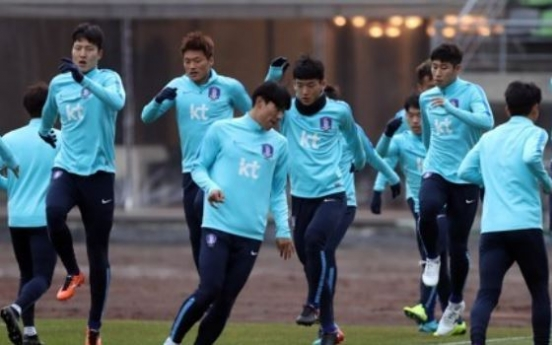 Korea plan to train in Middle East next month for 2018 World Cup preparations