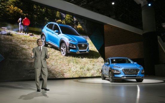 Exchange rate to be key to Korean carmakers' competitiveness