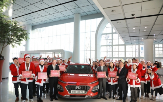 Hyundai delivers Christmas presents to underprivileged