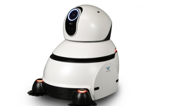 LG airport cleaning robot wins presidential design award