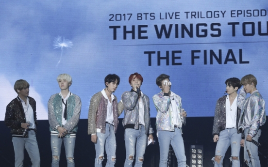 BTS presents tearful, beautiful finale of 'Wings' tour in Seoul