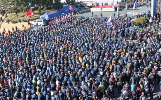 Hyundai labor union stages more strikes this week