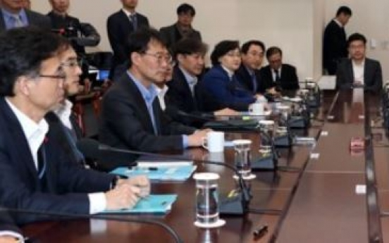Moon urges efforts to root out job irregularities at public firms