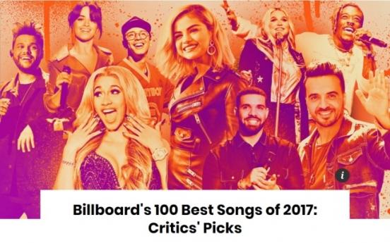 BTS' 'DNA' enters Billboard's 100 Best Songs of 2017