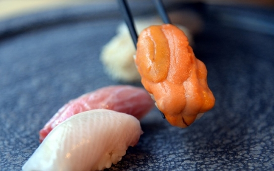 Seamless, delicate, fragrant sushi at Kiyose