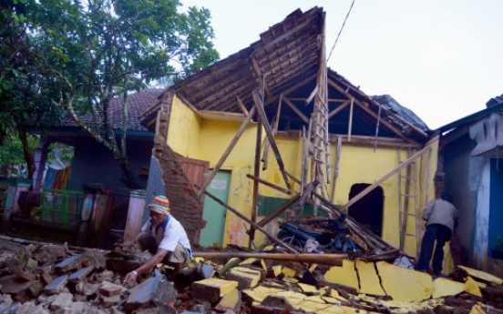 Toll rises to two dead after Indonesia quake