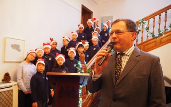 Christmas reception at UK Embassy