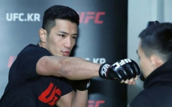 Korean UFC fighter vows to win comeback bout after 40-month absence