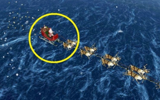 Where's Santa? US-Canadian military command tracking St. Nick