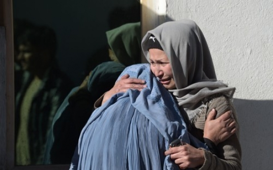 Around 40 killed in IS-claimed attack targeting Shiites in Kabul