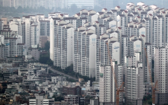 Korea's property tax rate to GDP stands below OECD average in 2017: data