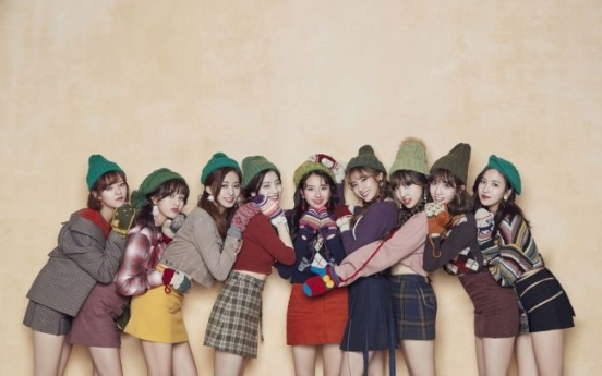 Twice performs at Japanese year-end music festival
